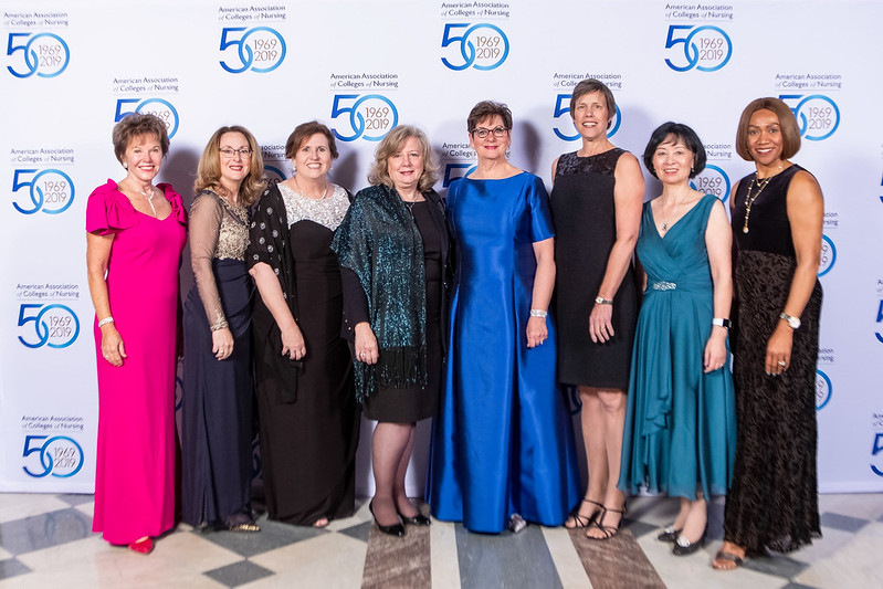 Step and Repeat with some of AACN's Board of Directors
