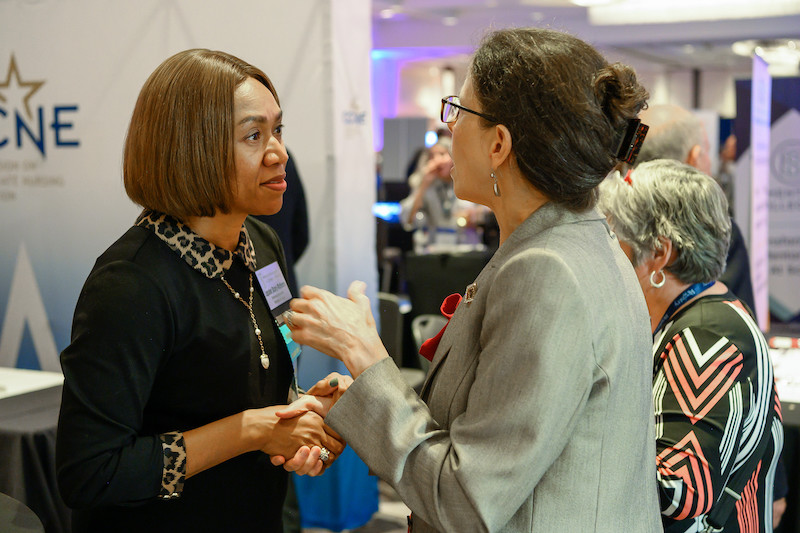 Board Member Dr. Lepaine Sharp-McHenry with Member Dean