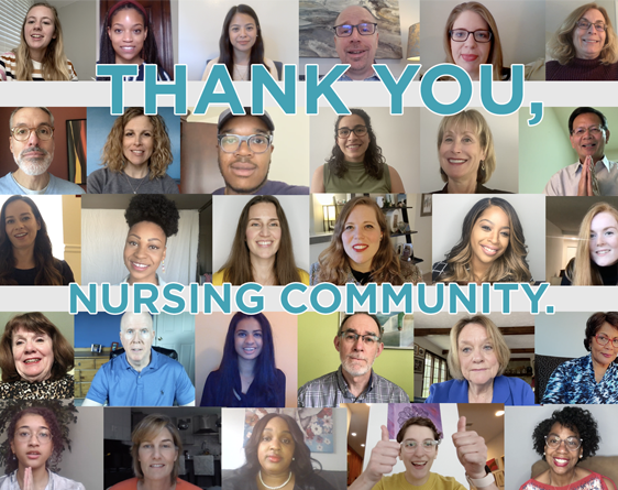 Photo of AACN Staff Videos - Thank You Nursing Community Video