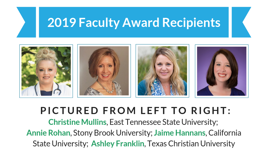2019 Faculty Award Recepients