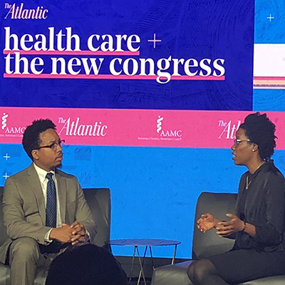 Lauren Underwood at The Atlantic event