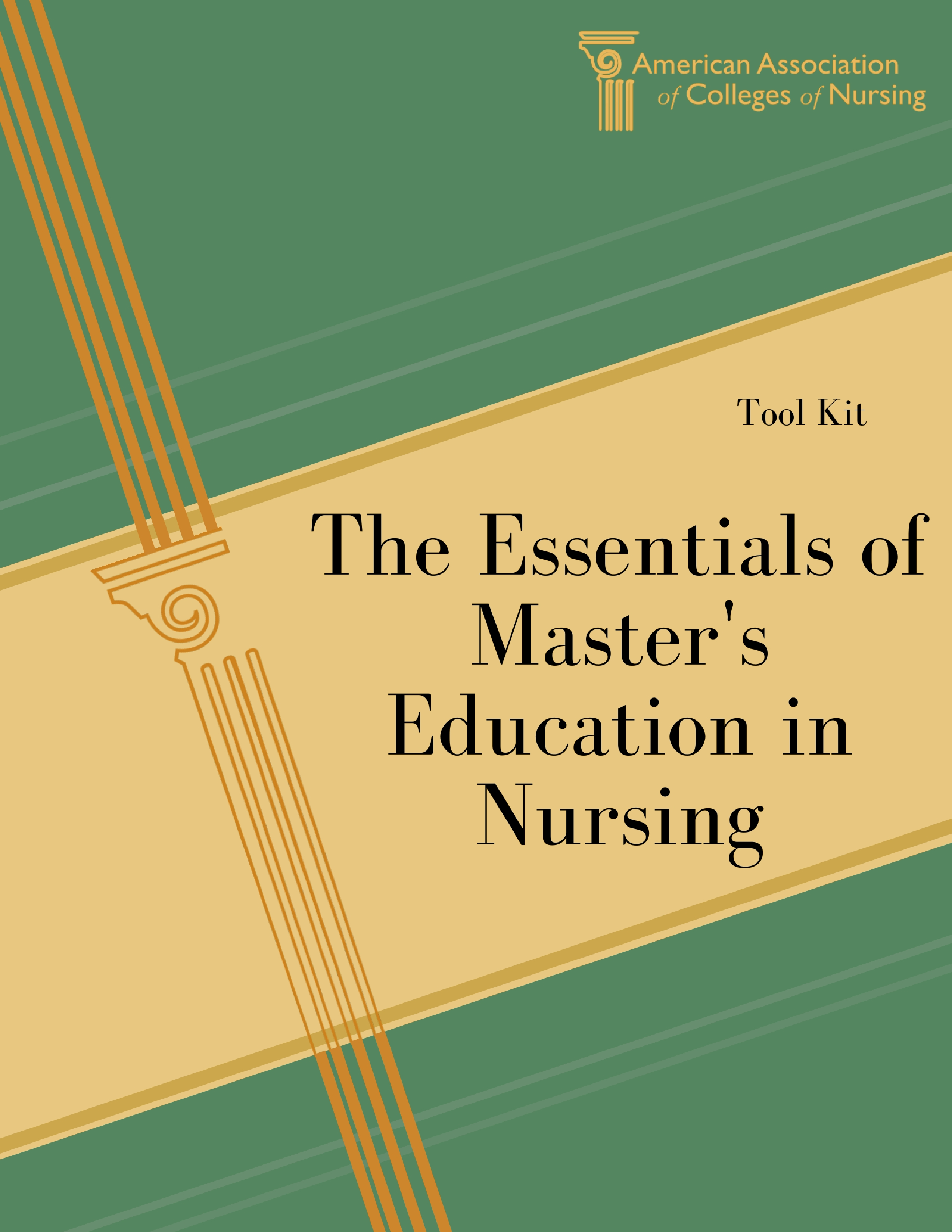 American association of colleges of nursing aacn education masters essentials tool kit 1betcityfo Image collections