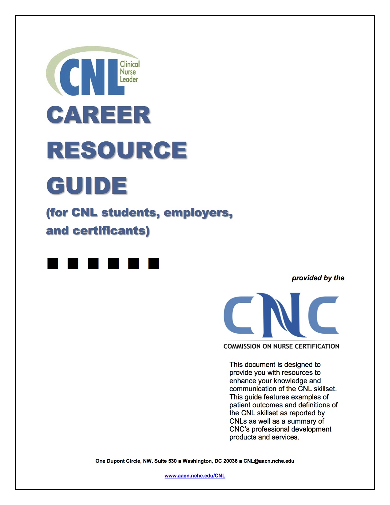 American association of colleges of nursing aacn cnl see cnl career guide 1betcityfo Image collections