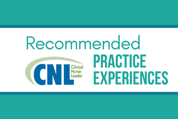 American association of colleges of nursing aacn news information new recommended cnl practice experiences malvernweather Image collections