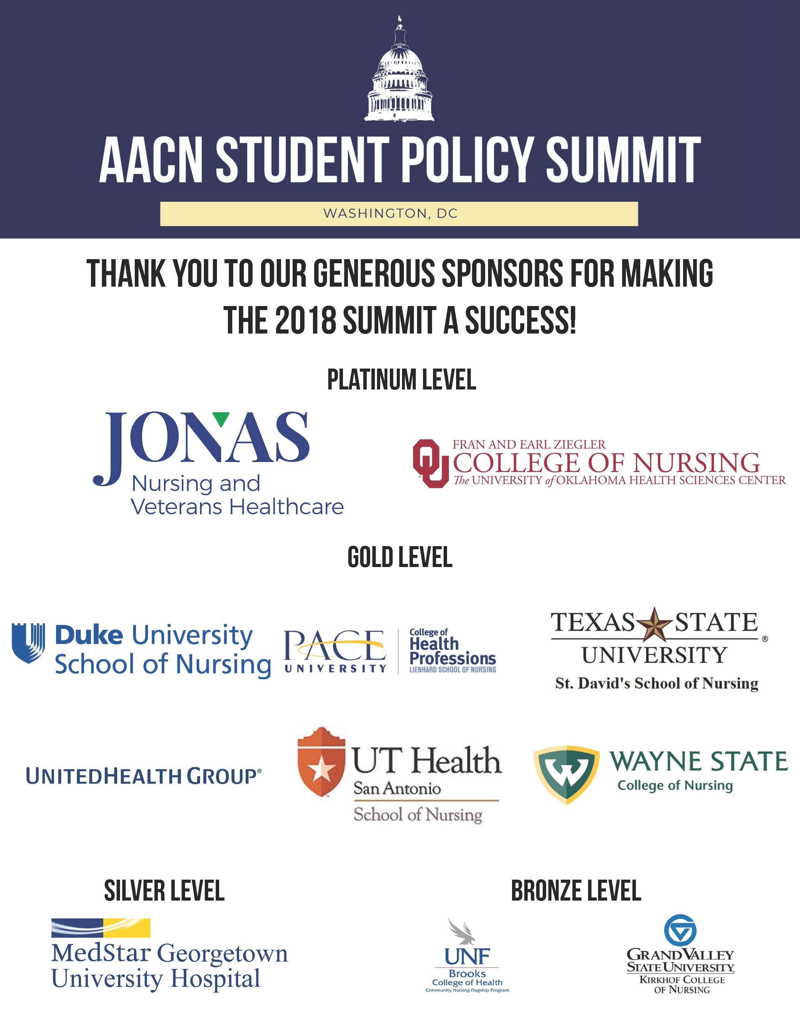 American association of colleges of nursing aacn policy sponsorships 1betcityfo Image collections