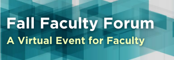 Fall Faculty Forum Conference