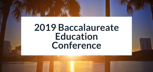 Image of Beach and Sunset - 2019 Baccalaureate Education Conference
